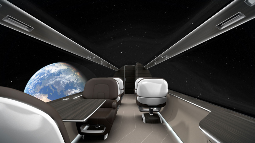 Meet the WINDOWLESS airplane  This is the future of air transport